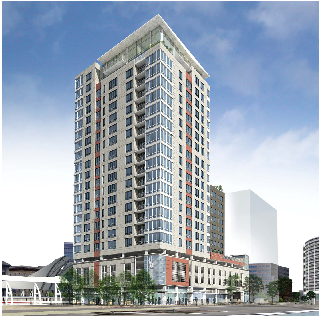 Denver 1650 Wewatta Street 230 Ft 70 M 21 Floors
