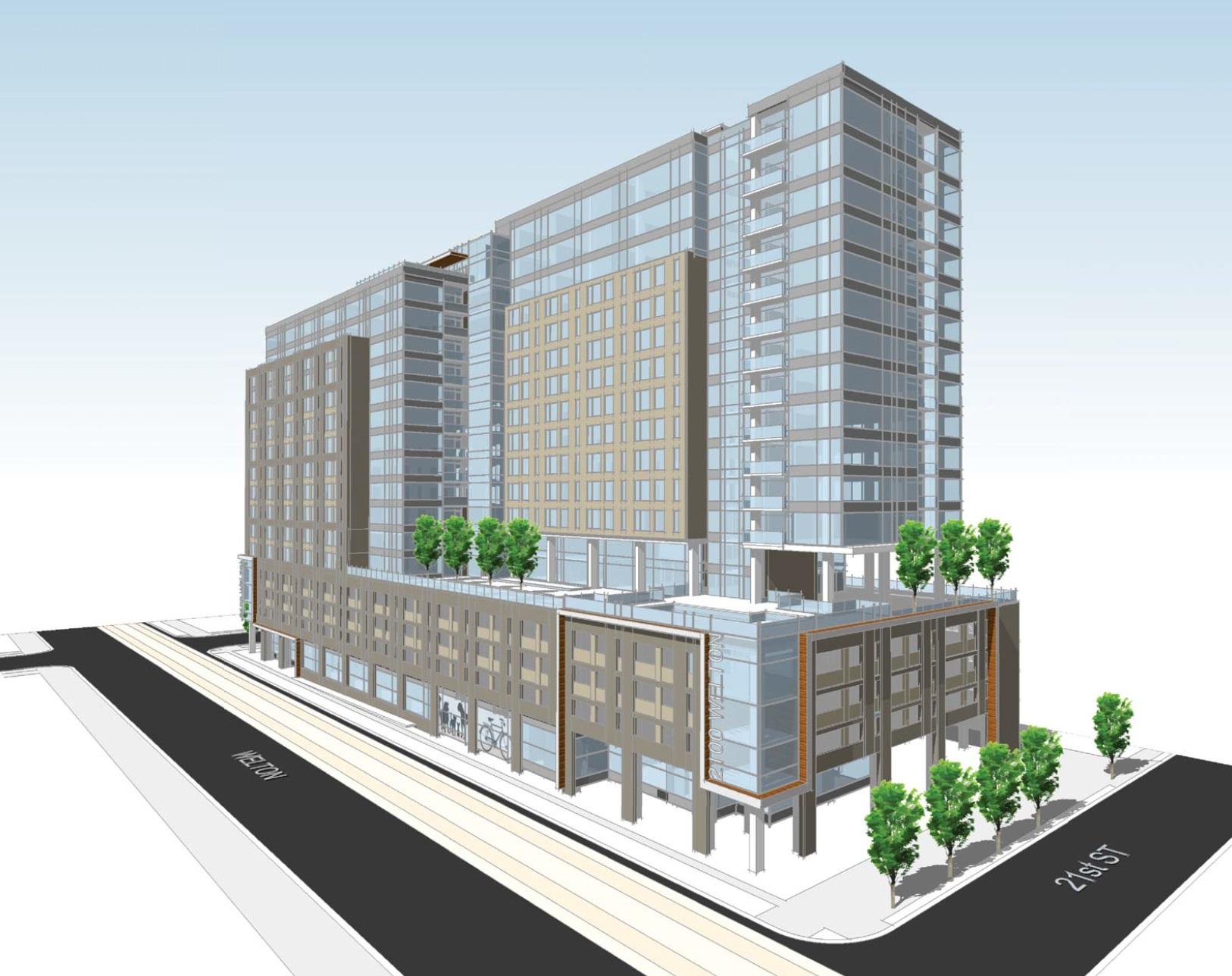 Apartment Building Design Concepts denver cityscape