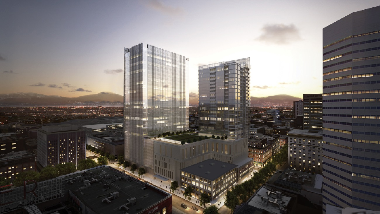 New Downtown Denver Projects