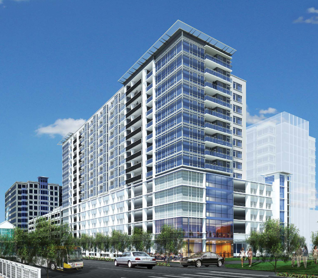 Denver cityscape for New building design