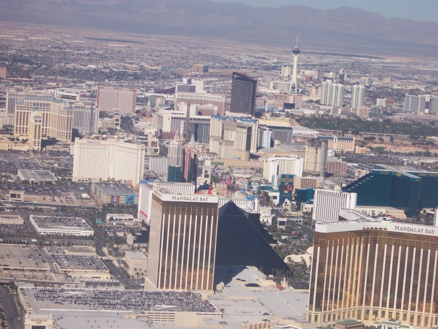 las vegas skyline. Las Vegas, Nevada